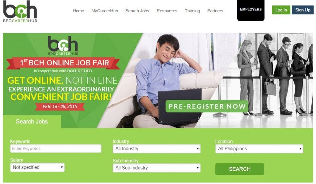 BPOCareerHub Launches New Website; Debuts Country's First Online Job Fair