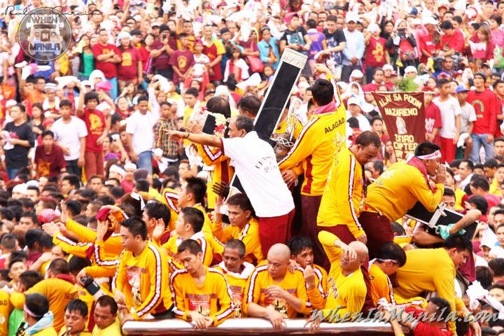 Black Nazarene Photos One of the Worlds Most Extreme and Intense Religious Events Manila Philippines  WhenInManila 3