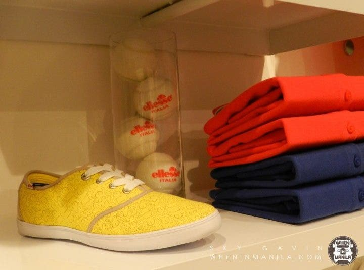 Add a splash of color to your wardrobe with Ellesse