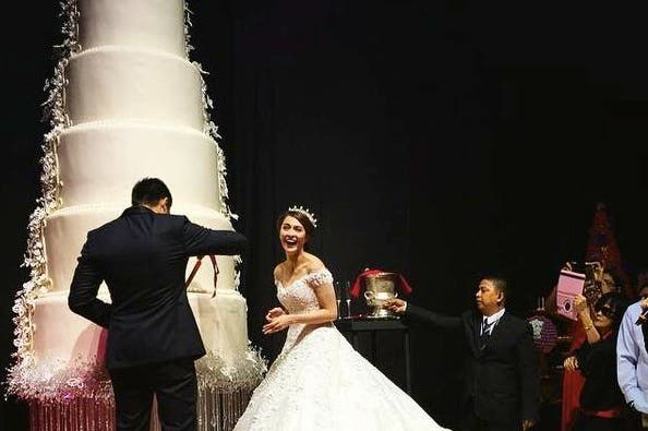 biggest wedding cake philippines marian and dingdong s wedding cake is possibly the world s 11750
