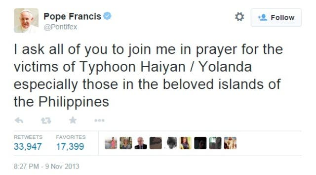 Pope Francis tweet in Filipino (5)