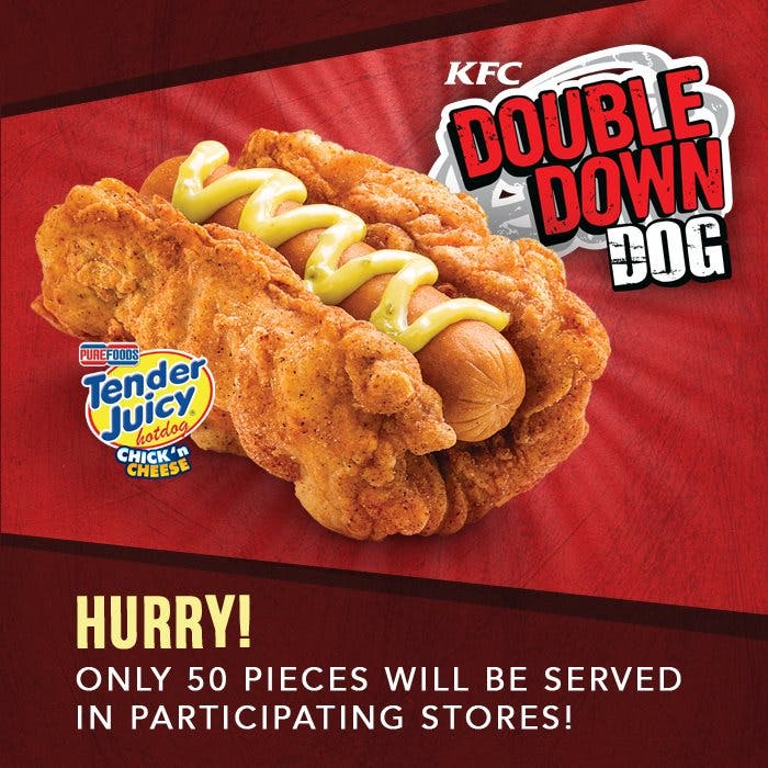 What is the KFC Double Down Dog and How Do I Get One