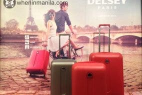 Delsey Travel Bags