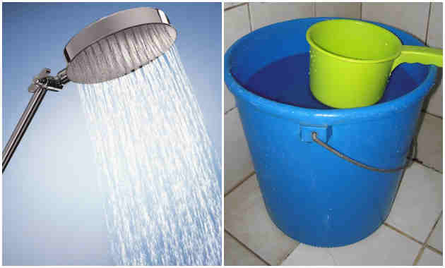 shower vs tabo and timba