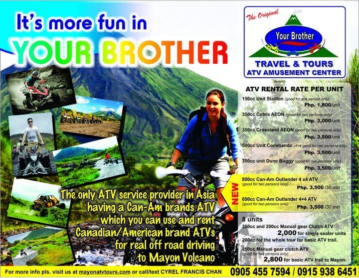 Mayon ATV Tour
