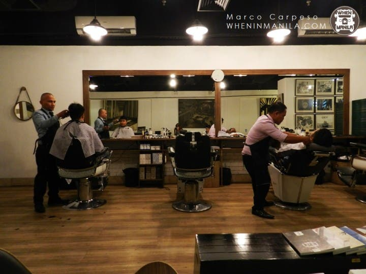 A true gentleman's barber shop at Back Alley