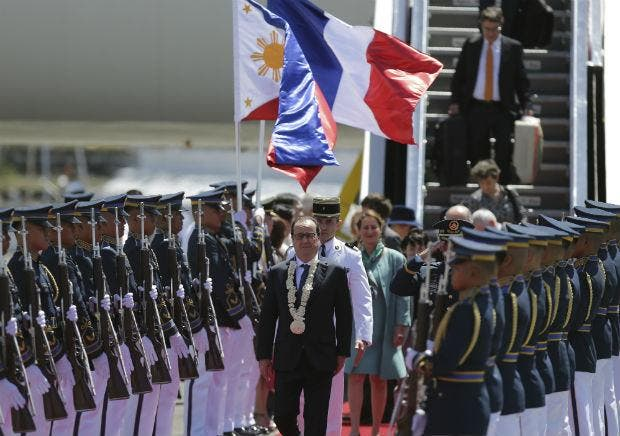 France to Give 50 Million Euros to the Philippines for Disaster Prevention 2