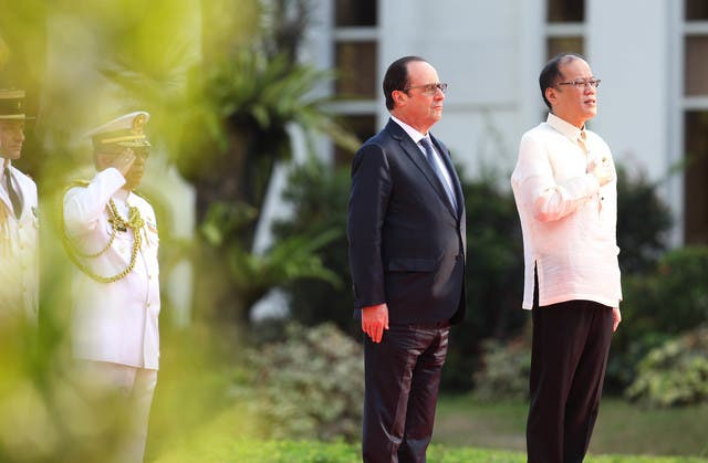 France to Give 50 Million Euros to the Philippines for Disaster Prevention