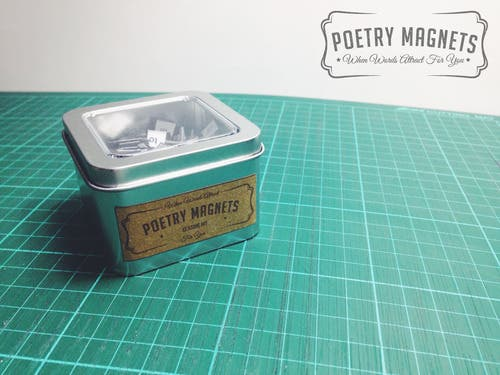 Poetry Magnets PH
