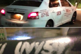 Taxi Allegedly Runs Over Pedestrian And Leaves Him Dead