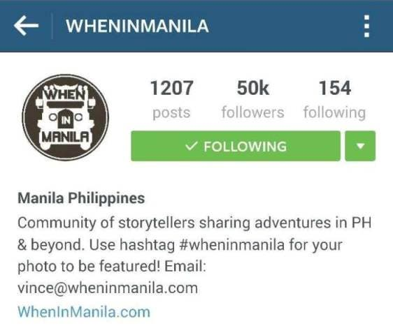 WhenInManila 50,000 Instagram followers (11)
