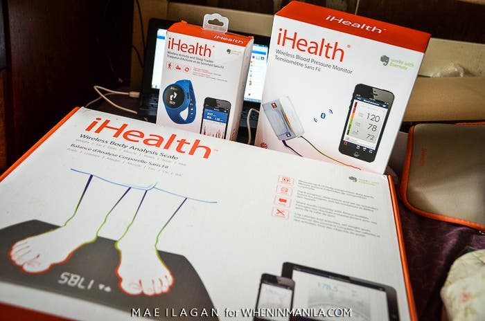 iHealth Blood Pressure Weight Activity Monitor When in Manila  Mae Ilagan-9