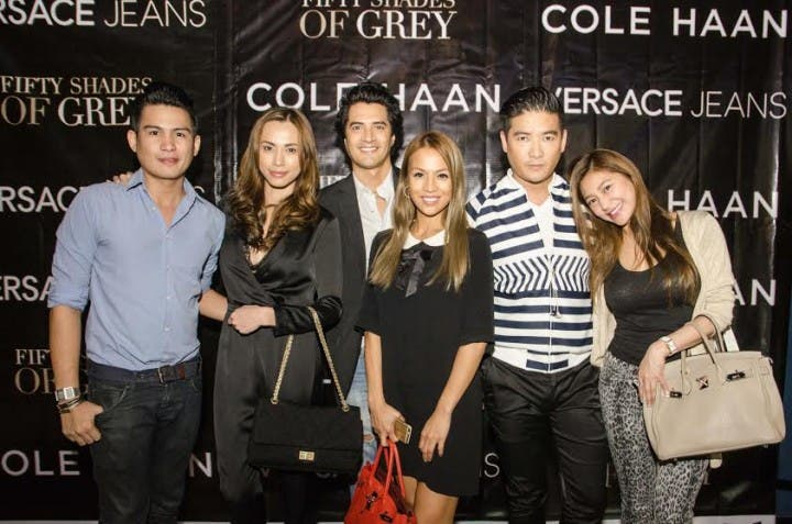 Versace Jeans and Cole Haan Sponsor Fifty Shades of Grey Premier