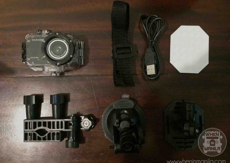 Mount Pulag, Cdr King, Action Camera, Go Pro alternative, CDR King Action Camcorder, Water proof Camera