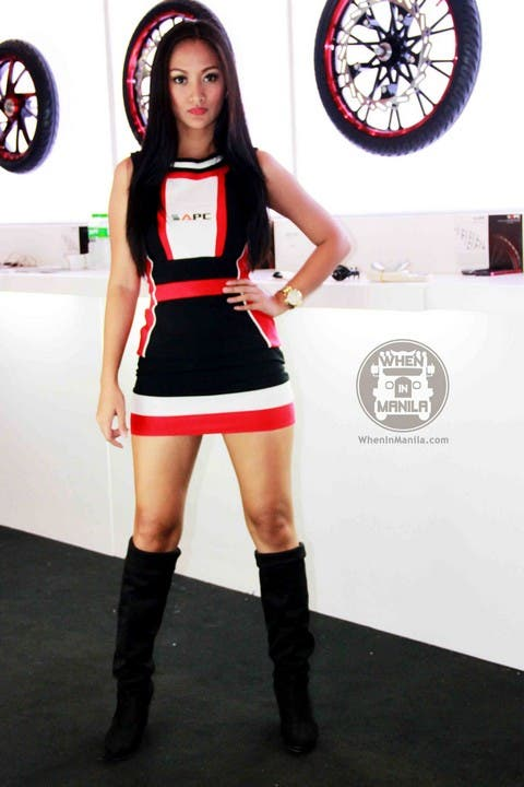 27 Abby Borja Hottest Filipina Girls at the Philippine Inside Racing Bike Fest and Trade Show (1)