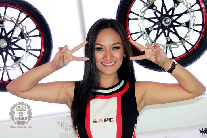 27 Abby Borja Hottest Filipina Girls at the Philippine Inside Racing Bike Fest and Trade Show (2)