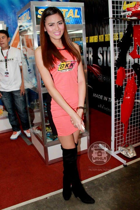 29 Arianne Bautista Hottest Filipina Girls at the Philippine Inside Racing Bike Fest and Trade Show (2)