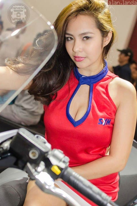 32 Mary Balbacal Booth Babe Model Hot Girls Filipinas Philippines WhenInManila Bike Fest Auto Show (1)