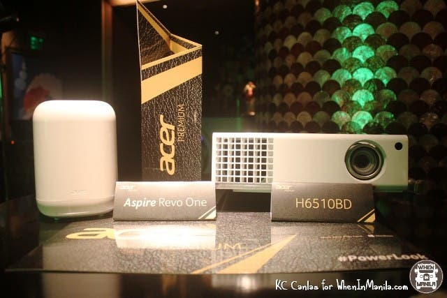 Acer Aspire Revo One and H6510BD projector