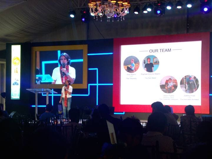 Filipina Invents Lamp that Uses Salt and Water 2