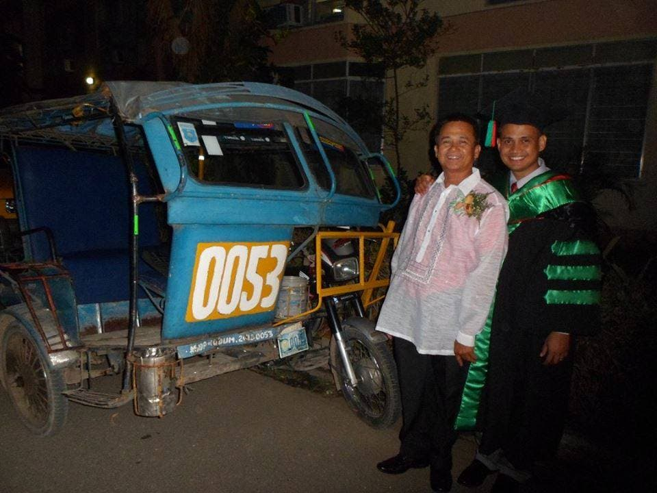 INSPIRING Tricycle Driver's Son Graduates From Medical School