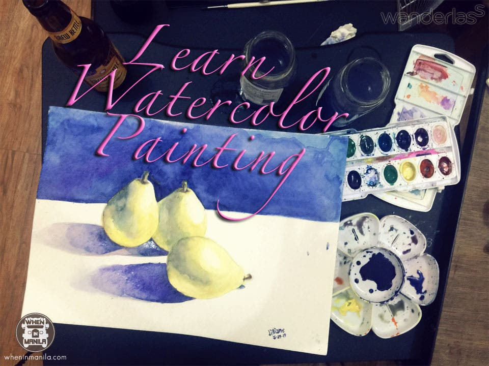 Learn Water Color Painting this Summer