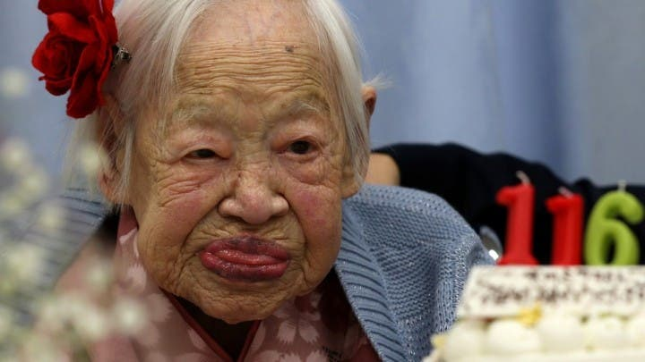 Misao Okawa longest living person