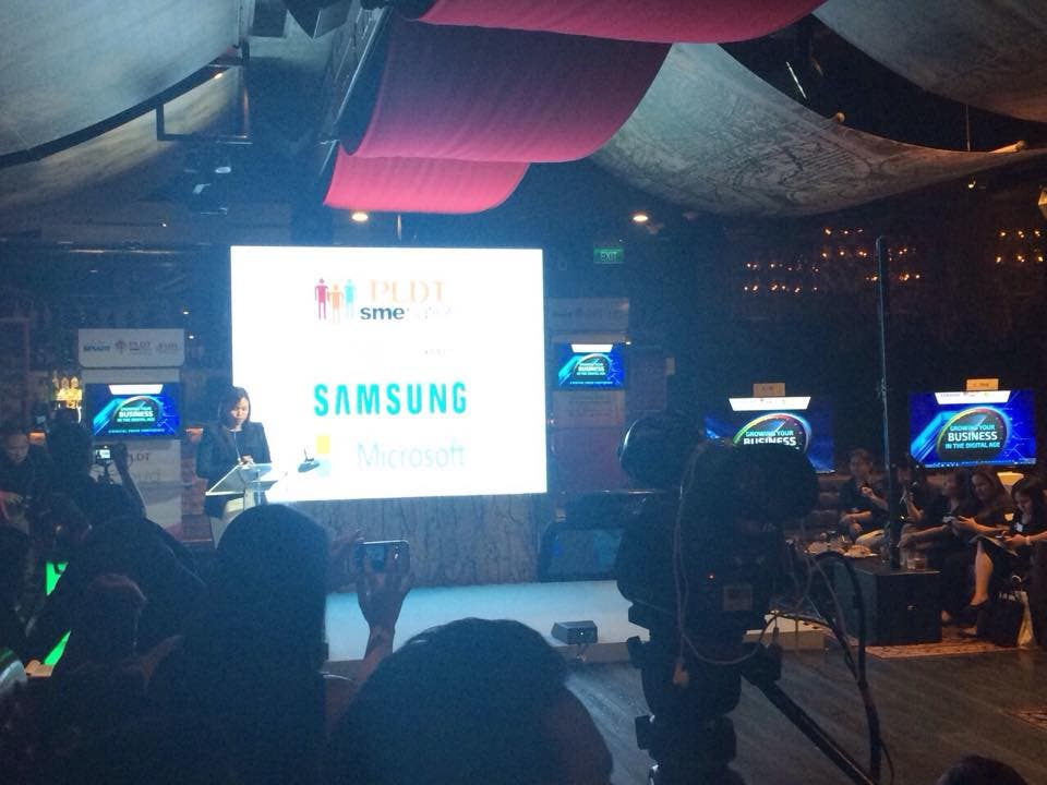 PLDT Partners with Samsung and Microsoft Philippines to Help Small and Medium Businesses (2)