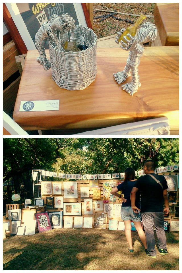 Great Food and Artsy Finds at The Block Party