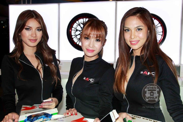 Top 30 Hottest Filipina Girls at the Philippine Inside Racing Bike Fest and Trade Show