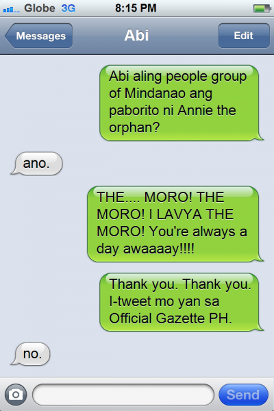 PNoy Text 5