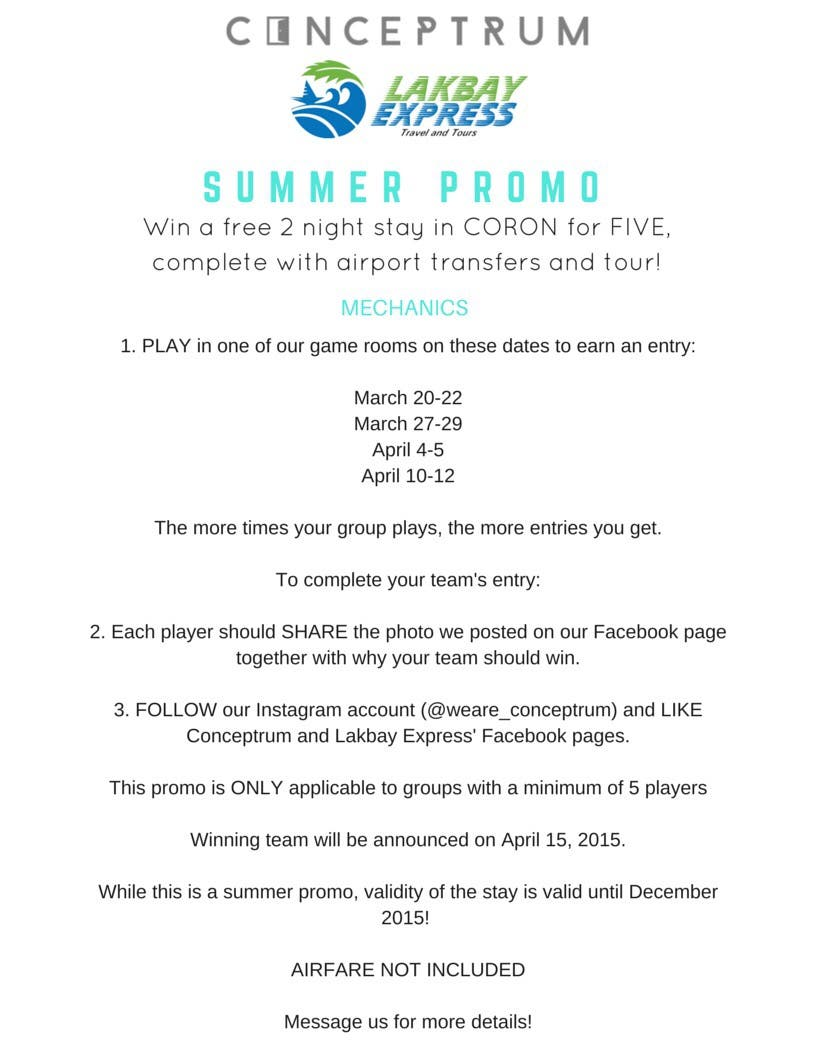 Conceptrum DERANGED Summer Promo