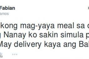 Balesin Delivery Tweet