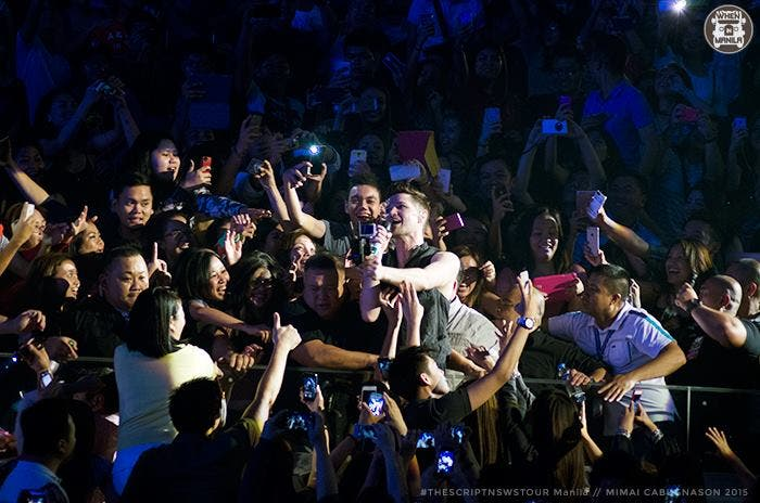 The Script paints the town green in Manila concert