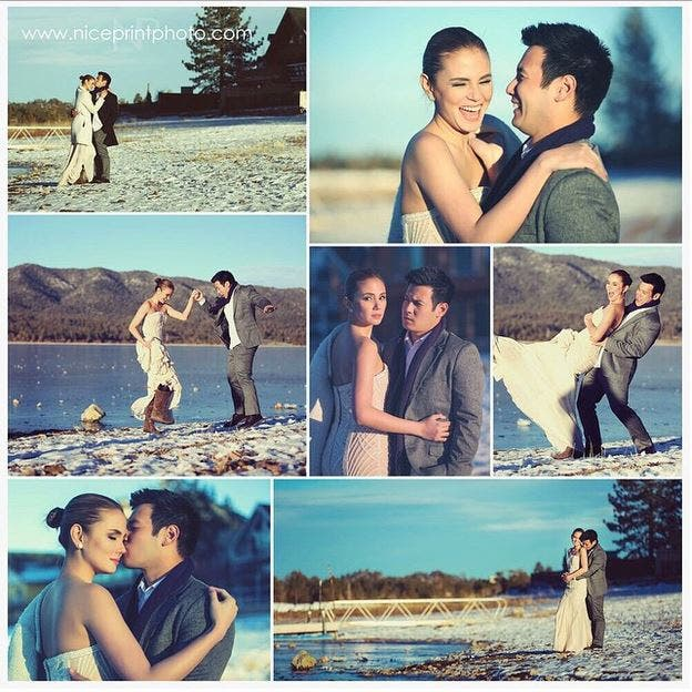 Check Out the Prenup Photos of John Prats and Isabel Oli 5