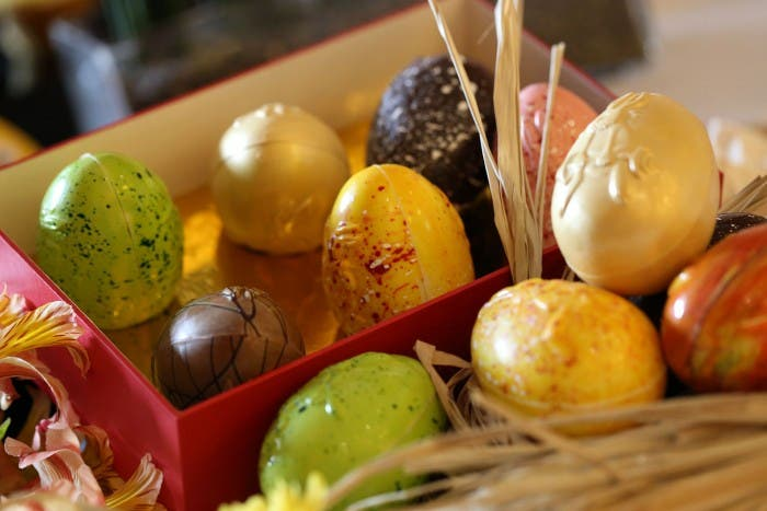 Chocolate Easter Egg available at Java Plus