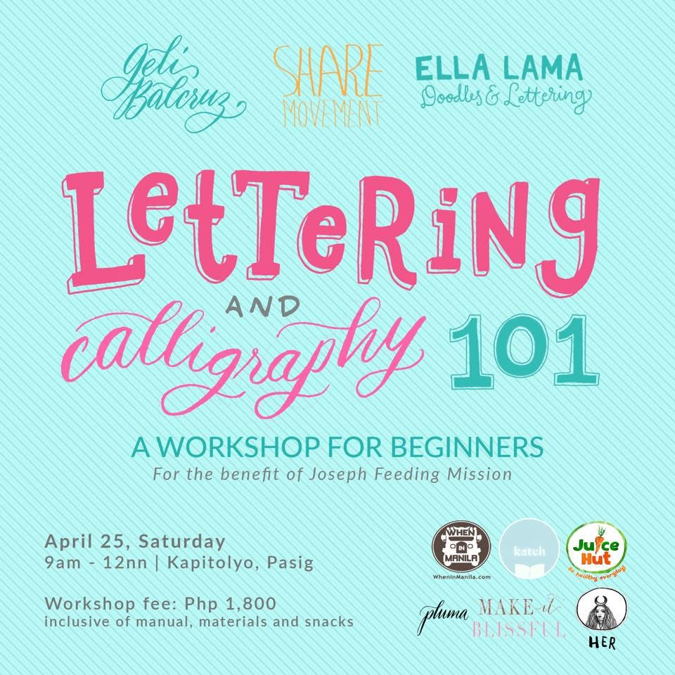 Lettering and Calligraphy 101