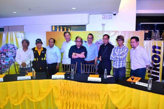 THE RETURN OF THE NIKON PROS. From left to right: George Tapan, Ted Madamba, Mr. Abrigo Merin (CEO, OPAL Holdings), Mr. Julio Sy (Chairman, TAO Corporation), Parc Cruz, Paul Ticzon, Joe Galian, Raymond Cruz and Mr. Paolo Salazar (BU Head, ThinkDharma Inc.)