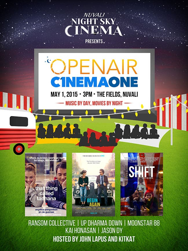 Open Air Cinema One: Music By Day, Movies By Night At Nuvali - When
