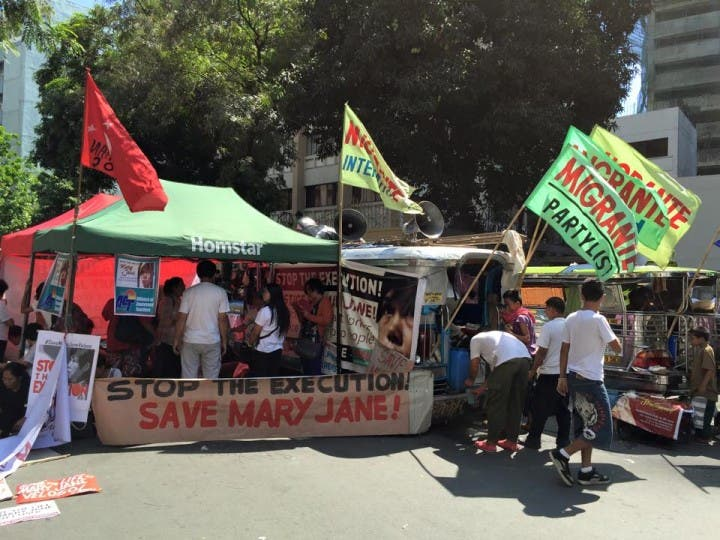 Protest for Mary Jane Veloso