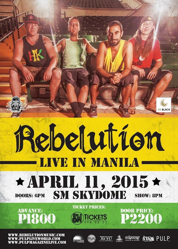 REBELUTION Official Poster