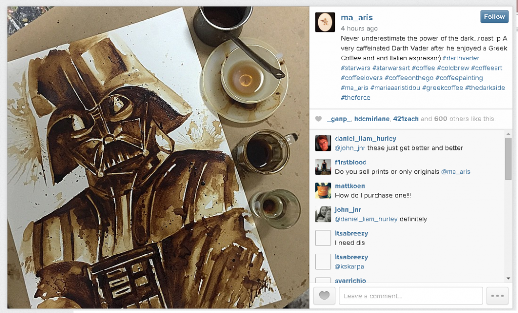 marie-aristidou-star-wars-coffee-painting-darth-vader