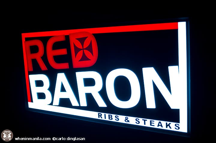 Red Baron Ribs and Steaks