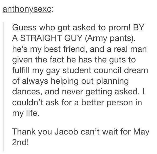straight guy asks gay best friend prom 2