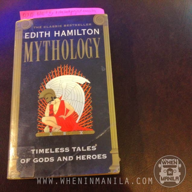 when in manila the book project manila mythology by edith hamilton