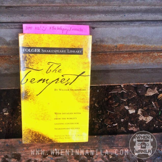 when in manila the book project manila the tempest