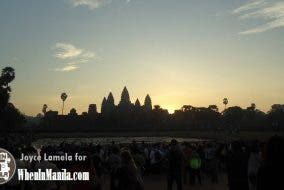 Angkor at Sunrise: morning trek to Cambodia's historic landmark