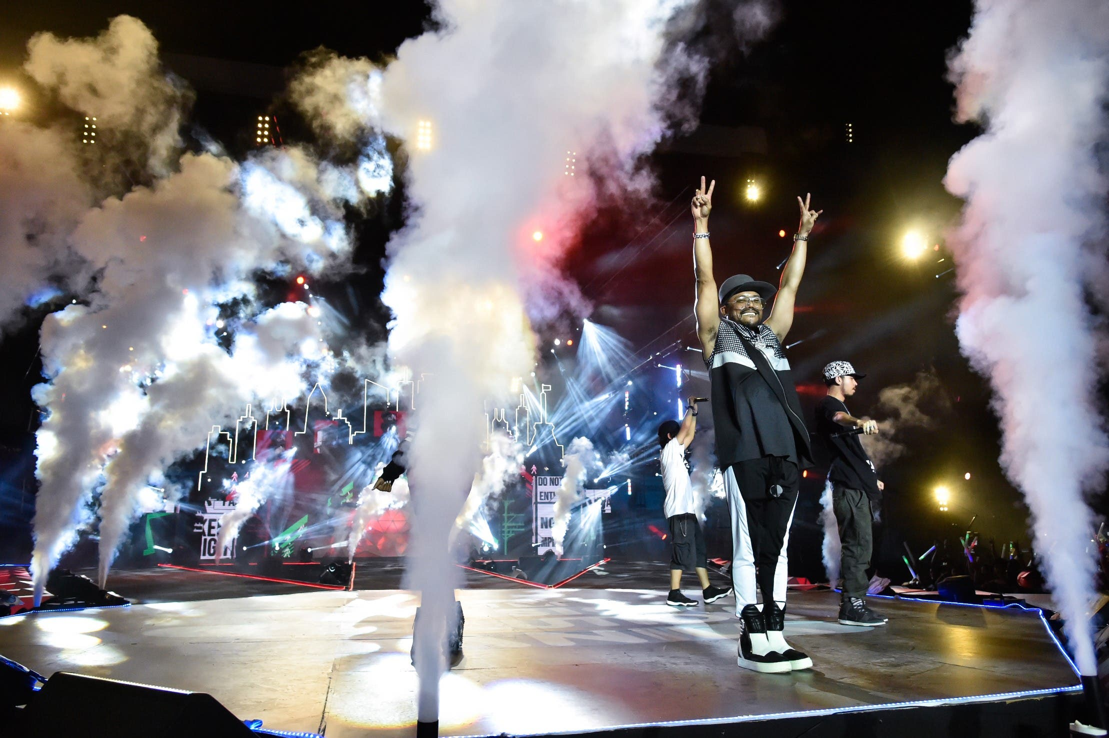 Apl.de.ap performing at MTV Music Evolution 2015 on 17 May Pic 13 (Credit - MTV Asia & Kristian Dowling)