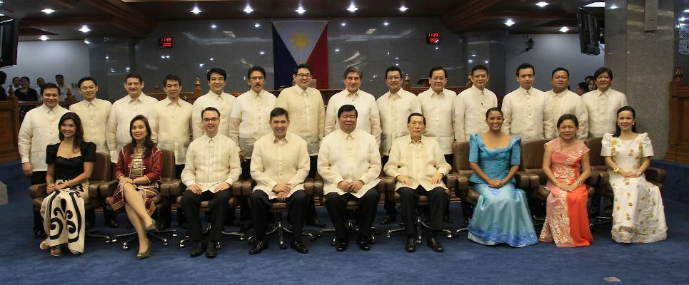 Check Out this List of the Country's Richest Senators