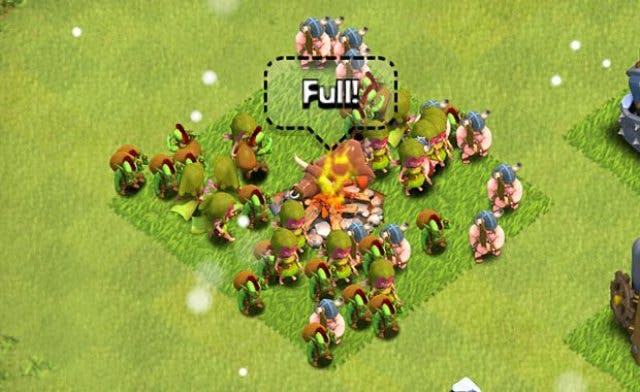 clash of clans troops upgrades